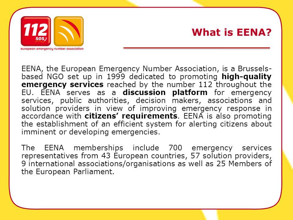 What is EENA.