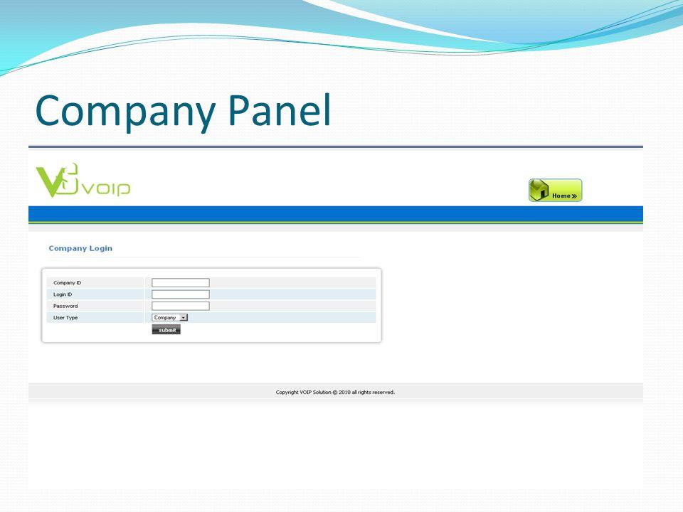 Company Panel
