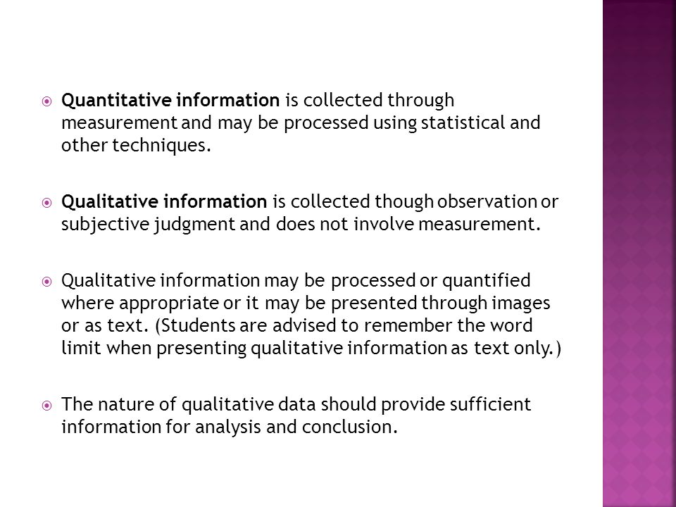  Secondary information This research involves gathering information from sources that have already been compiled in written, statistical or mapped forms.