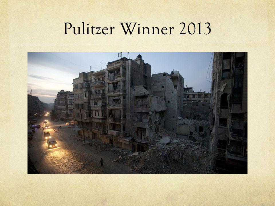 Pulitzer Winner 2013