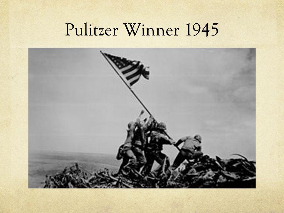 Pulitzer Winner 1945