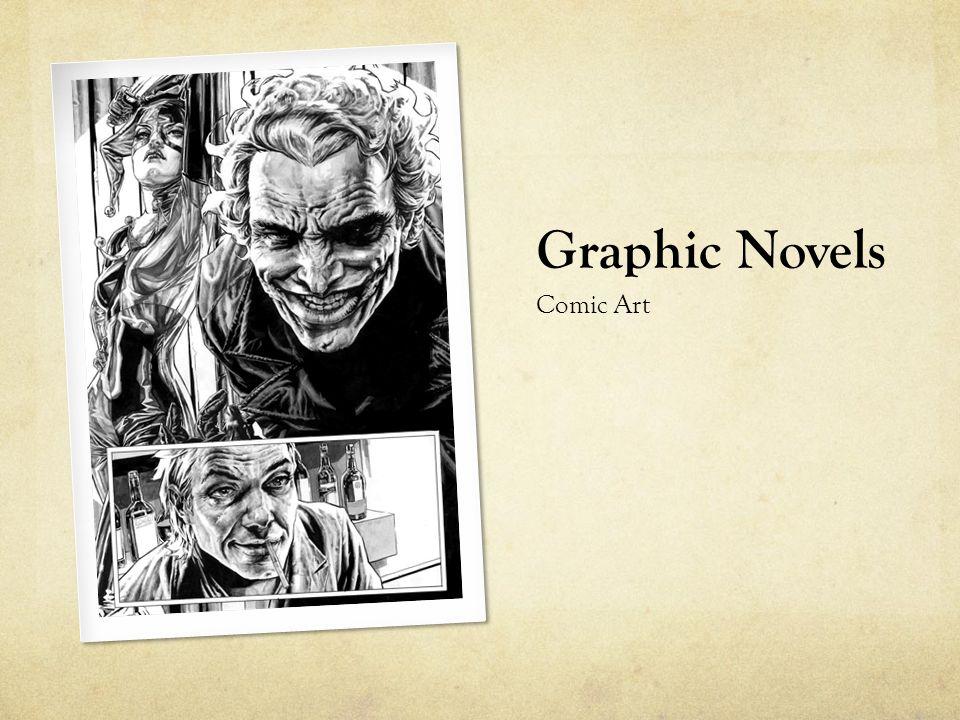 Graphic Novels Comic Art