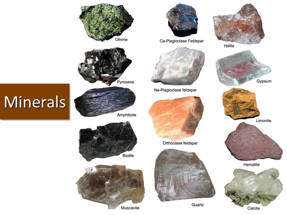 MineralsMinerals