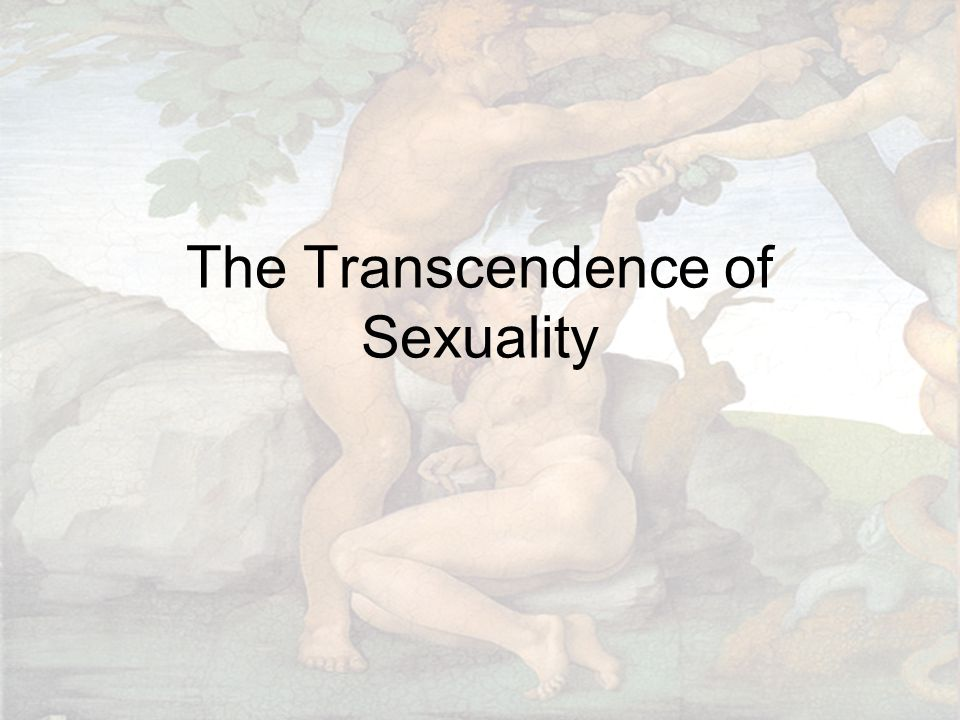 The Transcendence of Sexuality