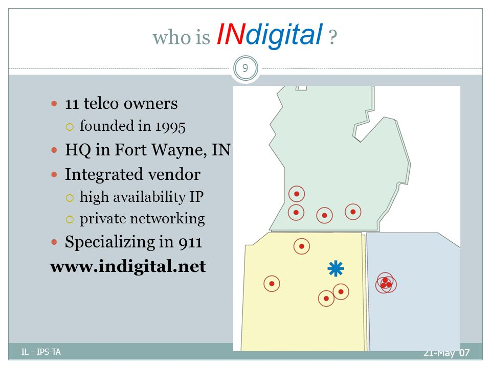 who is INdigital .