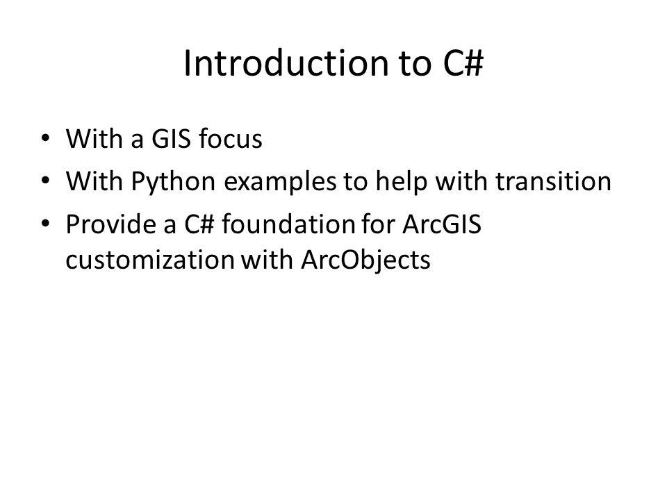 Operators Python +, -, *, /, % same as C# 2**3 is 2 3 C# +, -, *, /, % same as Python Math.Pow(2,3) Output : 0 0.5
