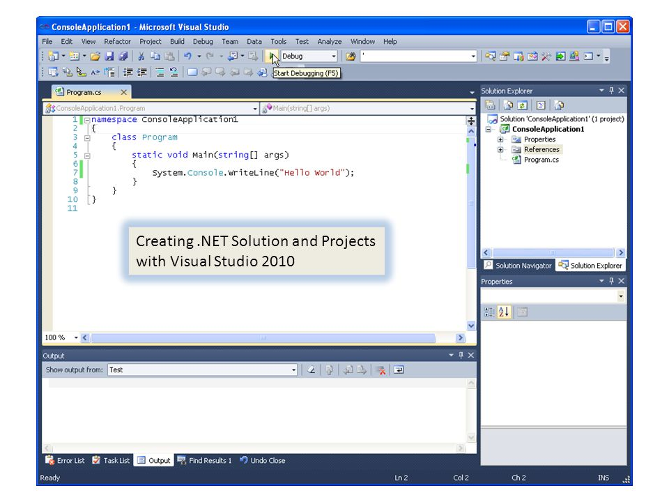 19/50.NET Framework Overview CLS (Common Language Specification) C#, VB.NET, Managed C++, J# Framework Class Libraries CLR (Common Language Runtime) Windows OS Win32, IIS, MSMQ Compilers CIL (Common Intermediate Language) UI Web Form WinForm WPF Services WCF WorkFlow Data Access ADO.NET Entity Framwork LINQ to SQL Framework Base Classes & CTS (Common Type System) IO, Collections, Security, Threading, etc.