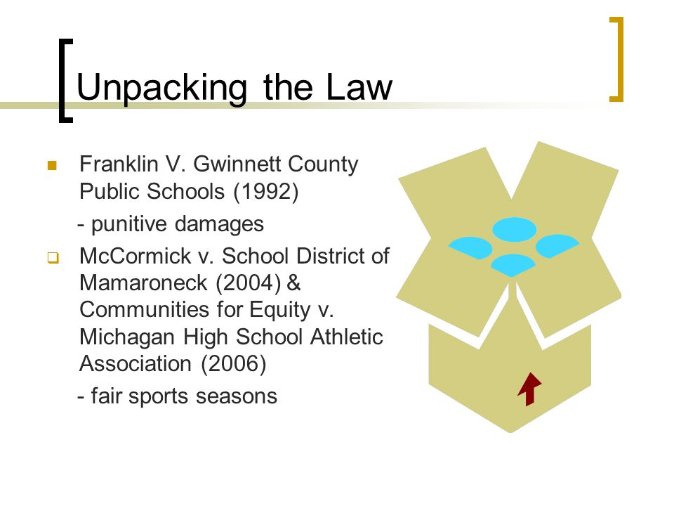 Unpacking the Law Franklin V.
