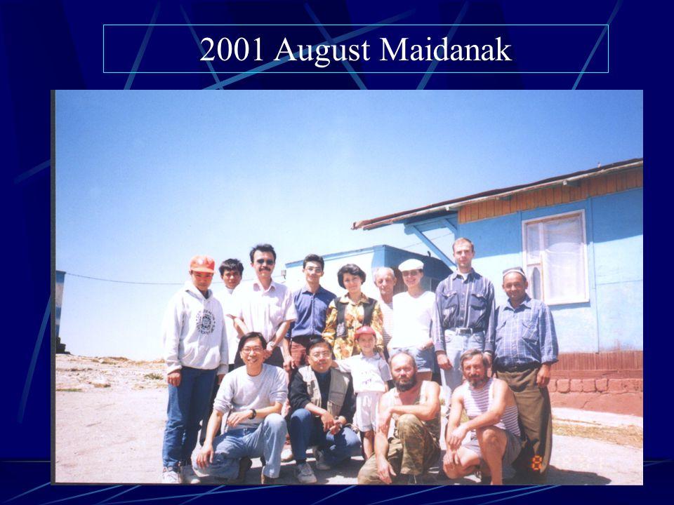 2001 August Maidanak
