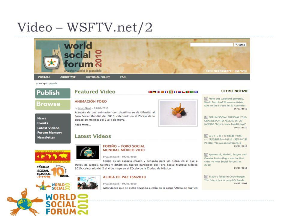 Video – WSFTV.net/2