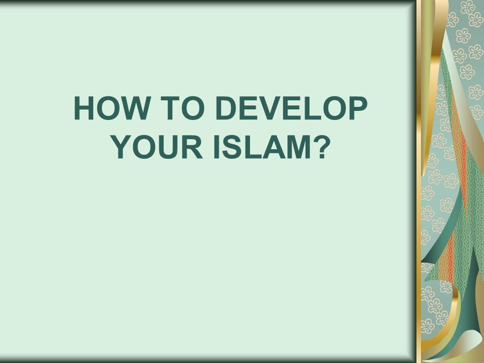 Becoming a Muslim after becoming convinced is opening a plain page in your deed record.