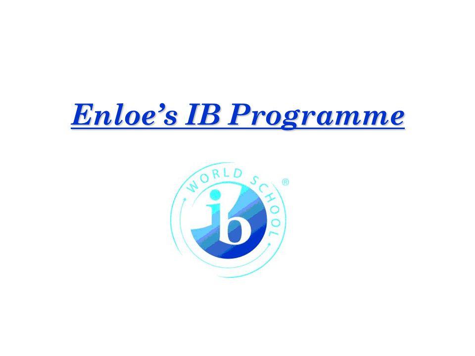 Enloe's IB Programme