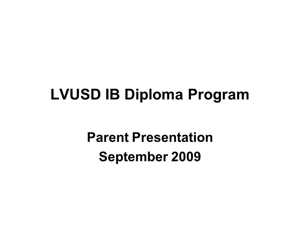 IB by the Numbers Global IB Diploma recipients: – 1990 – 3,237 – 2000 – 14,473 – 2008 – 35,408 Global pass rate (1990-2008) has consistently maintained at 80% Average global Diploma score (1990-2008) has consistently maintained at 30 points