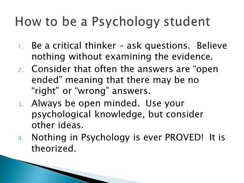 1.Be a critical thinker – ask questions. Believe nothing without examining the evidence.
