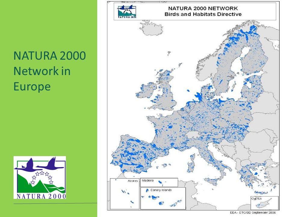 Προστατευόμενες Περιοχές - ΤΟ.Κ.Α.Α. Σερρών NATURA 2000 Network in Europe