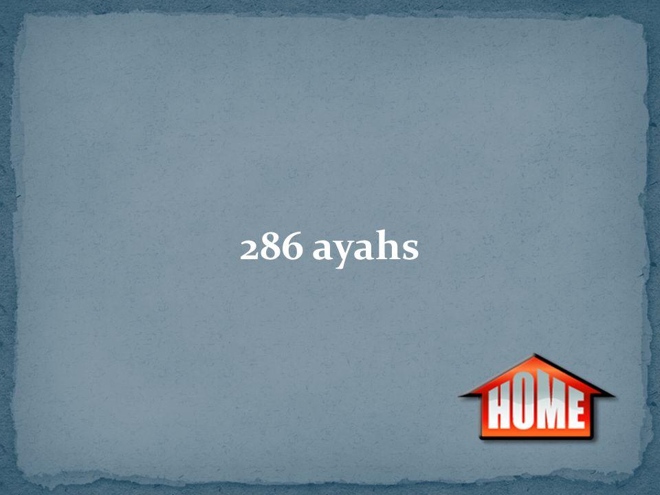286 ayahs