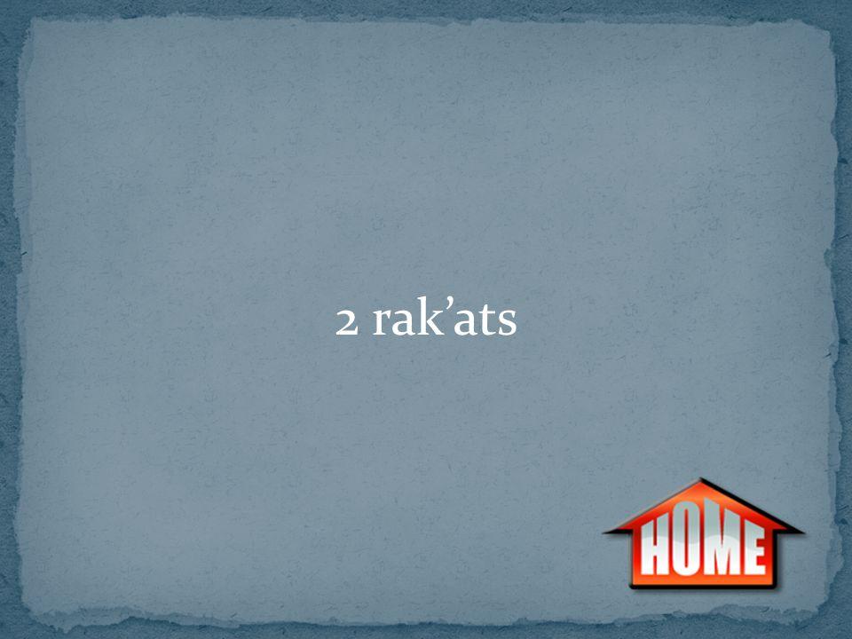2 rak'ats