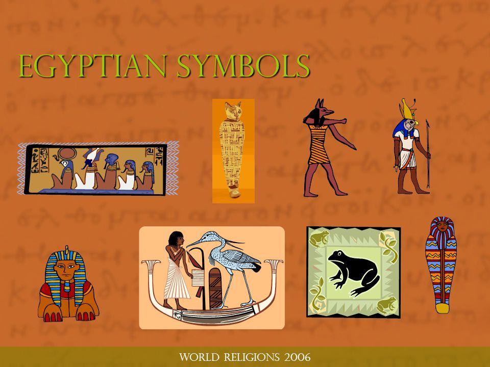 World religions 2006 Egyptian symbols
