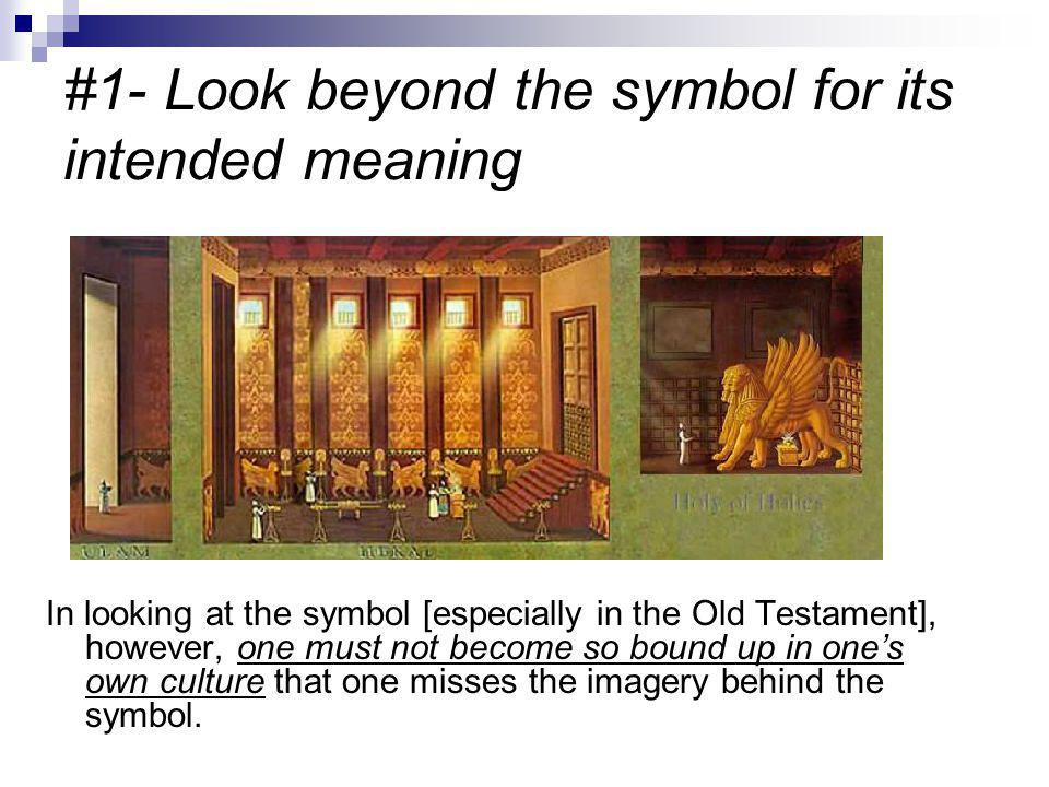 #2 Do the scriptures themselves give the interpretation of the symbol.