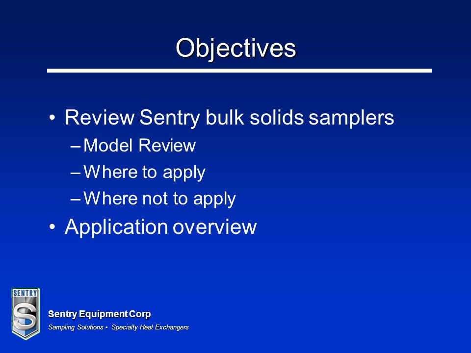Sentry Equipment Corp Sampling Solutions Specialty Heat Exchangers Example – Eccentric Pre-mount