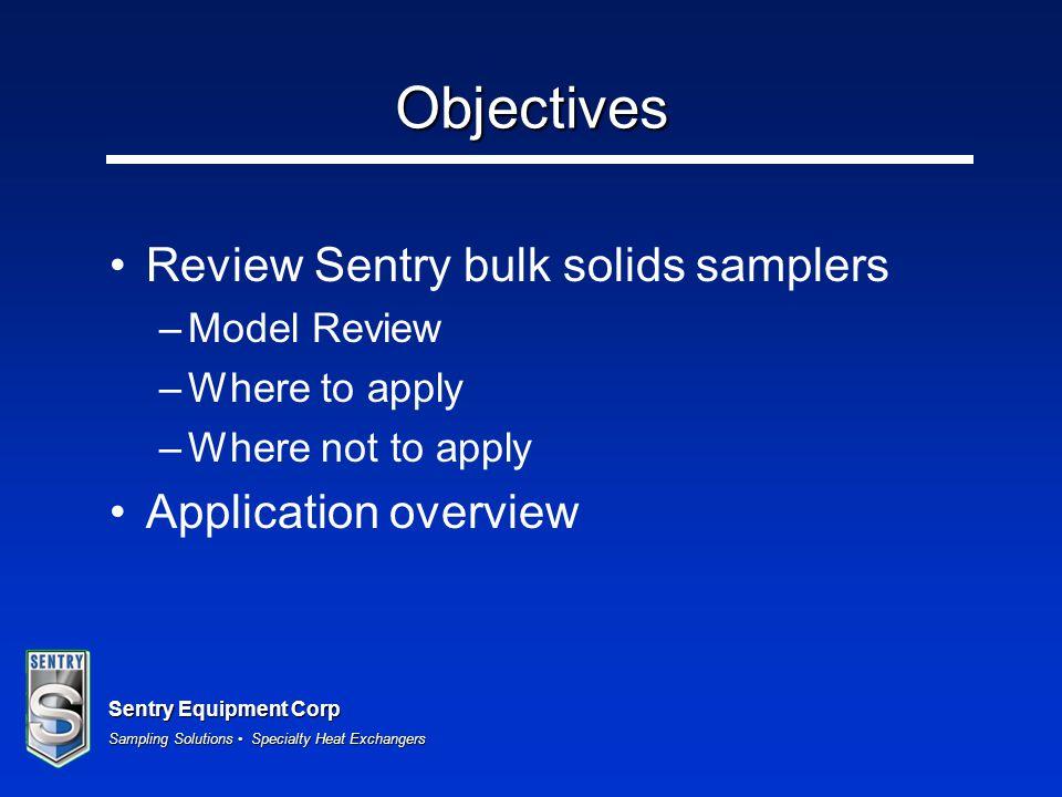 Sentry Equipment Corp Sampling Solutions Specialty Heat Exchangers Bulk Solids Samplers Video
