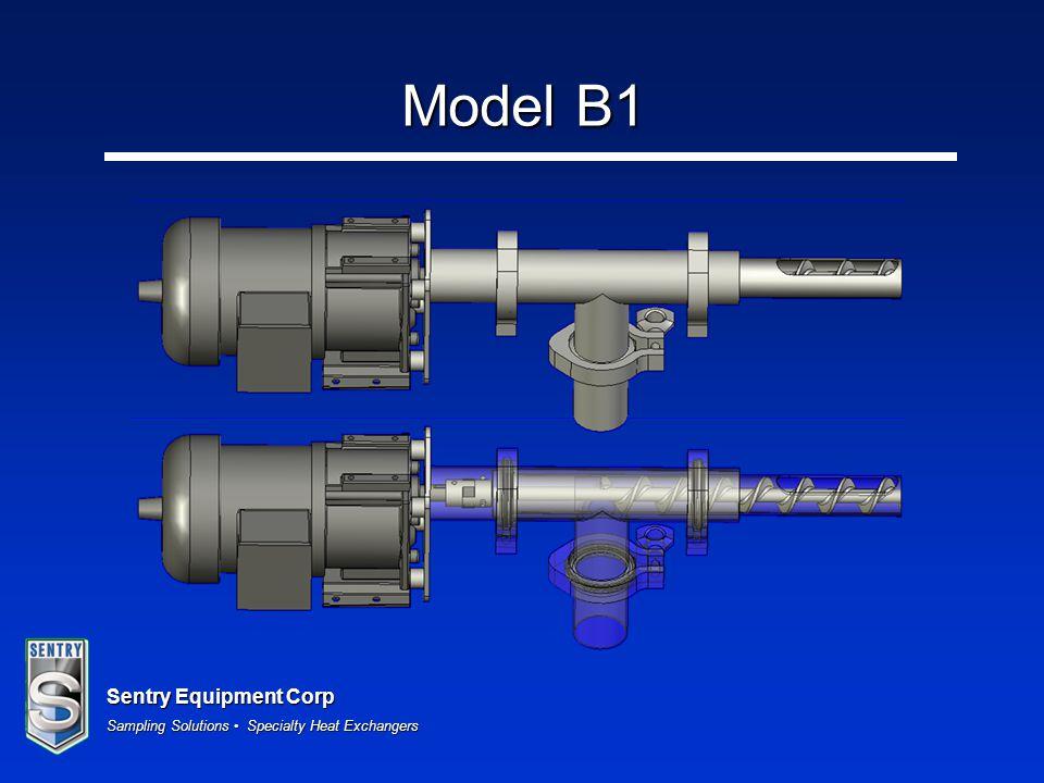 Sentry Equipment Corp Sampling Solutions Specialty Heat Exchangers Model B1