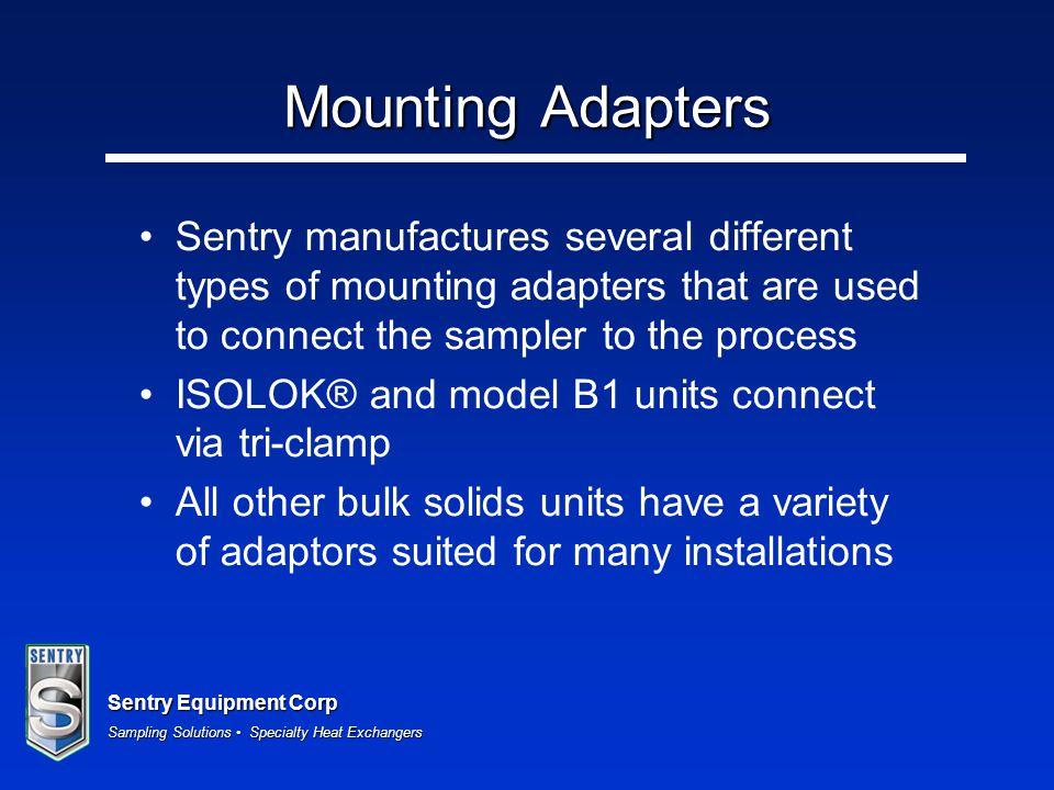 Sentry Equipment Corp Sampling Solutions Specialty Heat Exchangers Strip Samplers