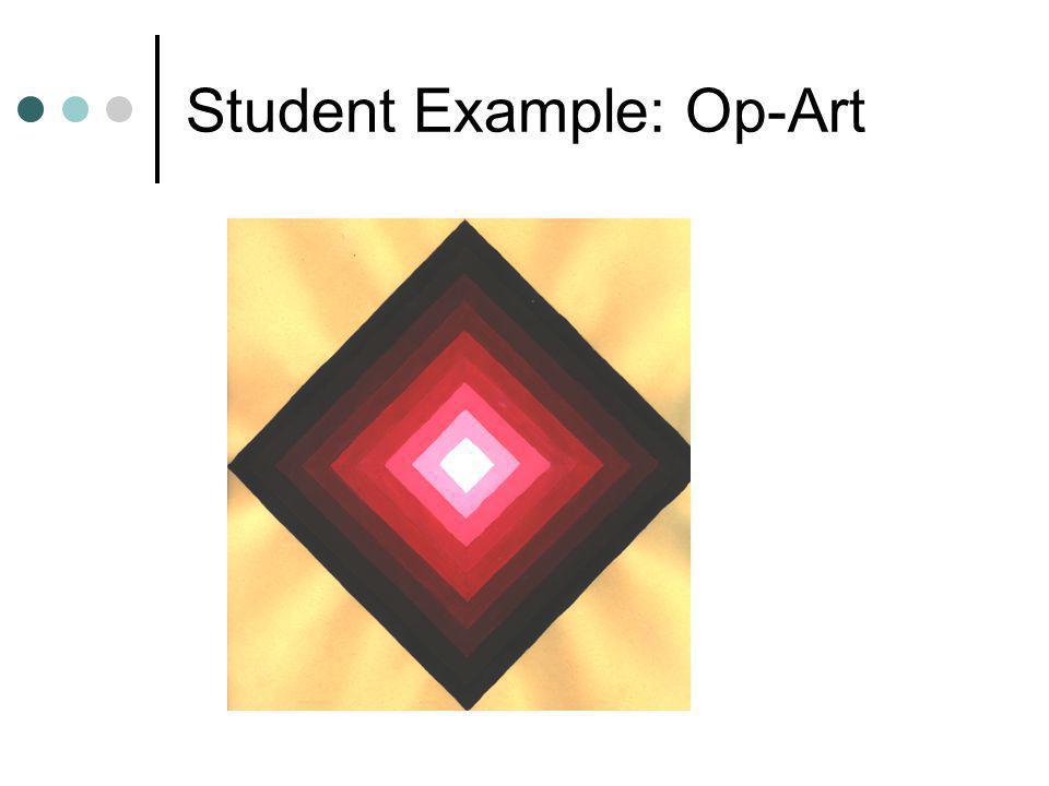 Student Example: Op-Art