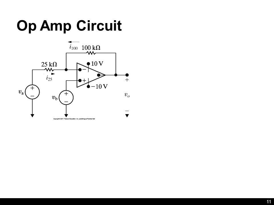 Op Amp Circuit 11