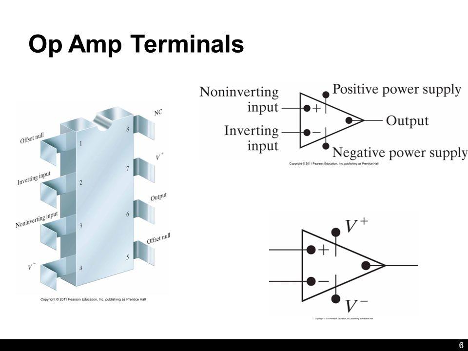 Op Amp Terminals 6