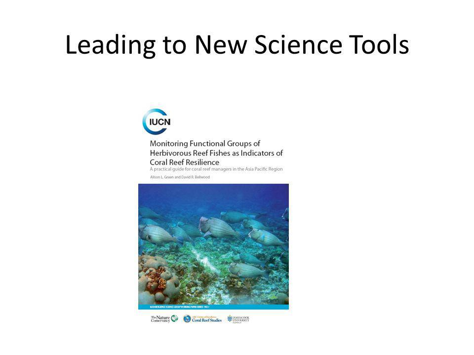Leading to New Science Tools