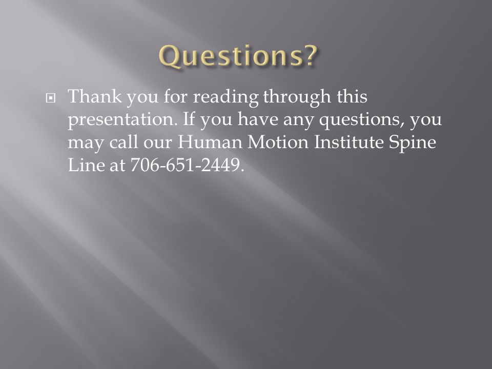  Thank you for reading through this presentation.