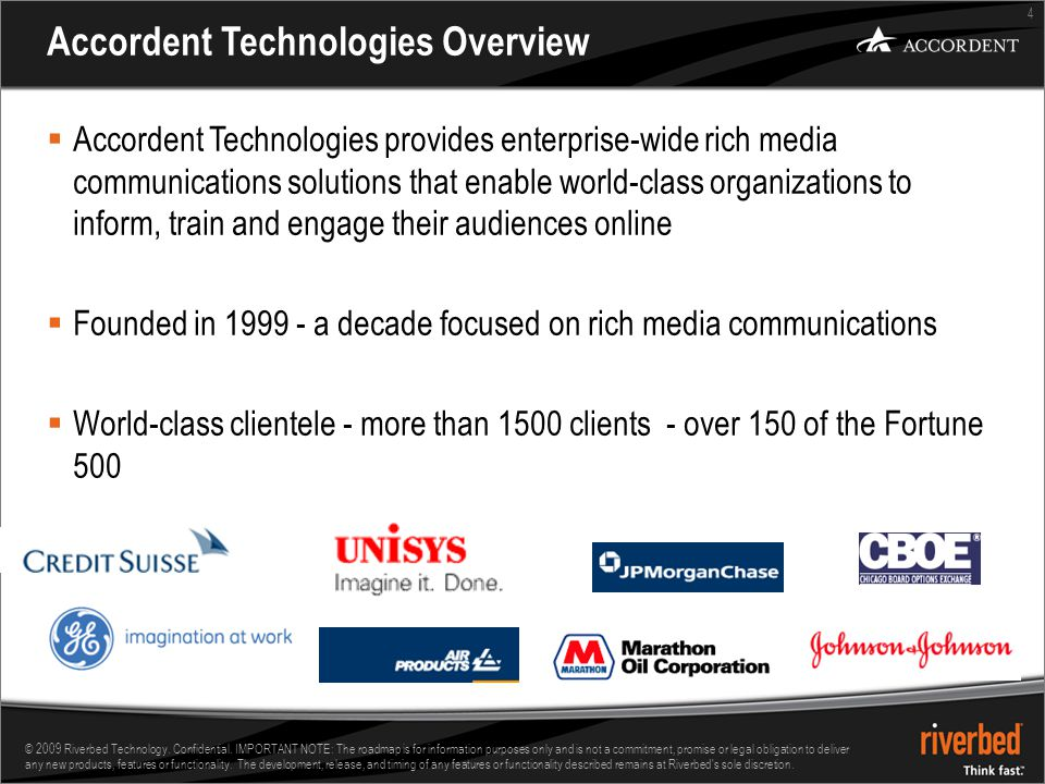 15 © 2009 Riverbed Technology.Confidential.