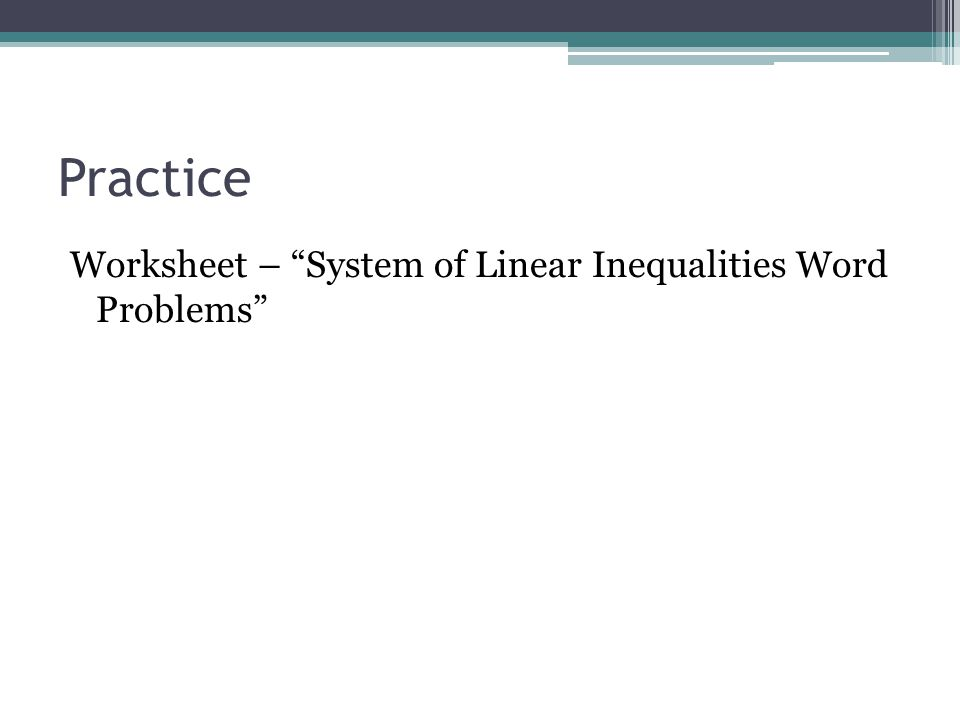 Worksheets Linear Inequalities Word Problems Worksheet Pdf graphing systems of inequalities word problems worksheet linear solving