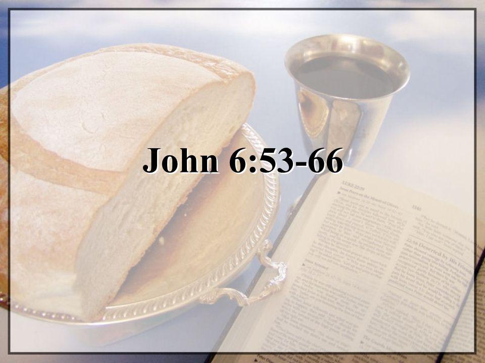 John 6:53-66