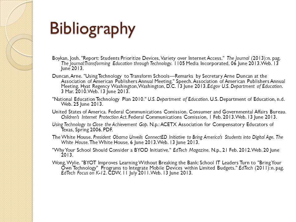 Bibliography Boykan, Josh.