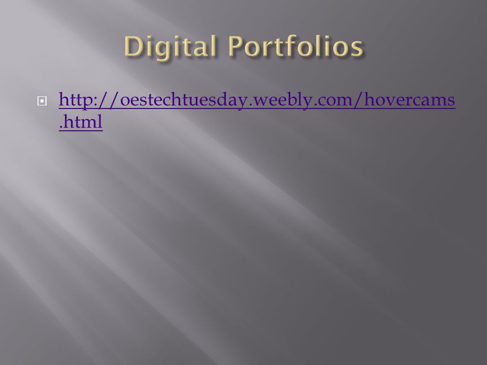  http://oestechtuesday.weebly.com/hovercams.html http://oestechtuesday.weebly.com/hovercams.html