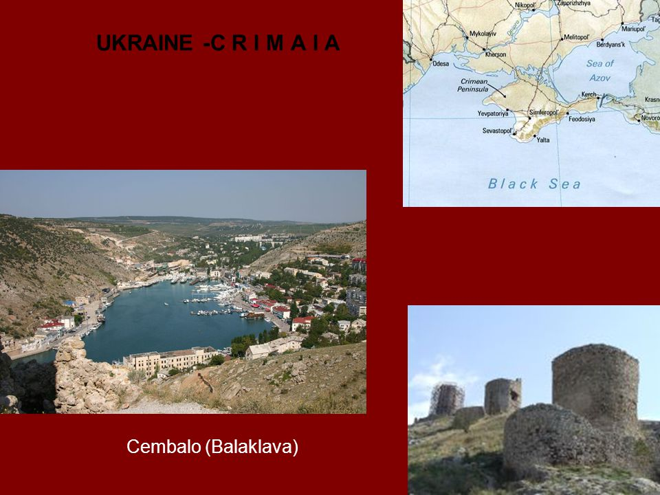 UKRAINE -C R I M A I A Cembalo (Balaklava)