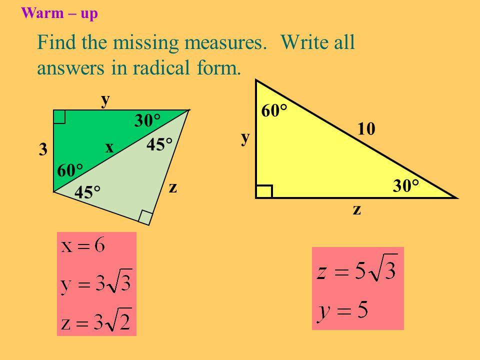 The Trigonometric Functions SINE COSINE TANGENT Pronounced like sign Pronounced tan-gent Pronounced like co-sign