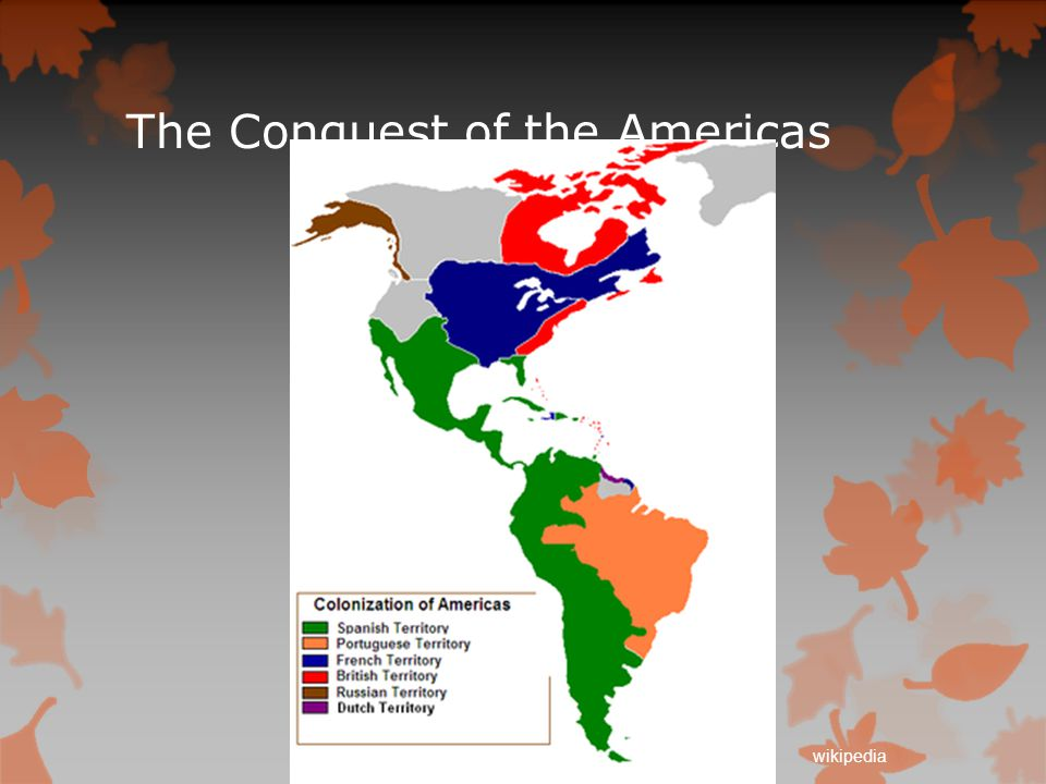 The Conquest of the Americas wikipedia