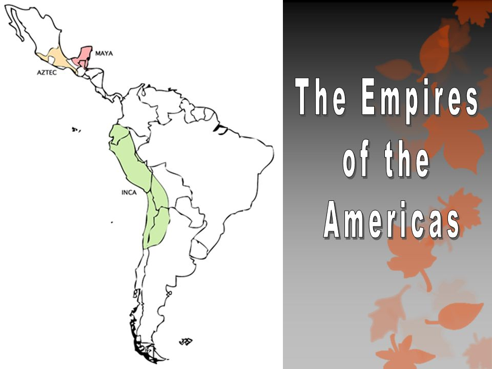 Background: Early Americans  Nomadic Asians followed herd animals into the Americas.