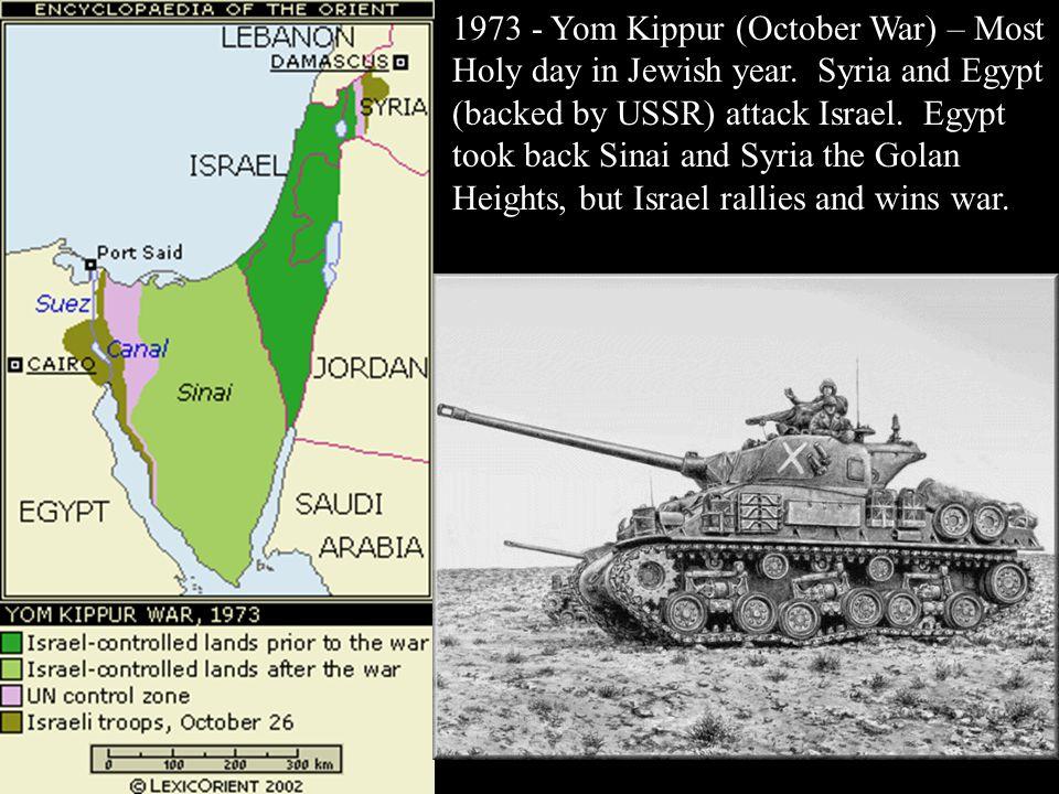 9/5-9/17 1978 Camp David Accords.