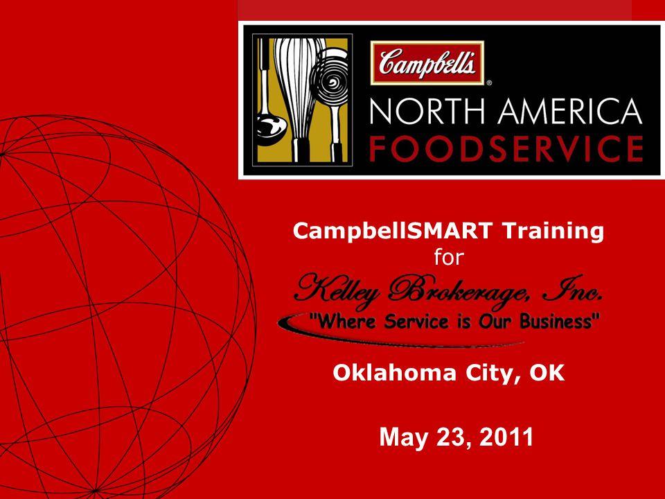 1 CampbellSMART Training for May 23, 2011 Oklahoma City, OK