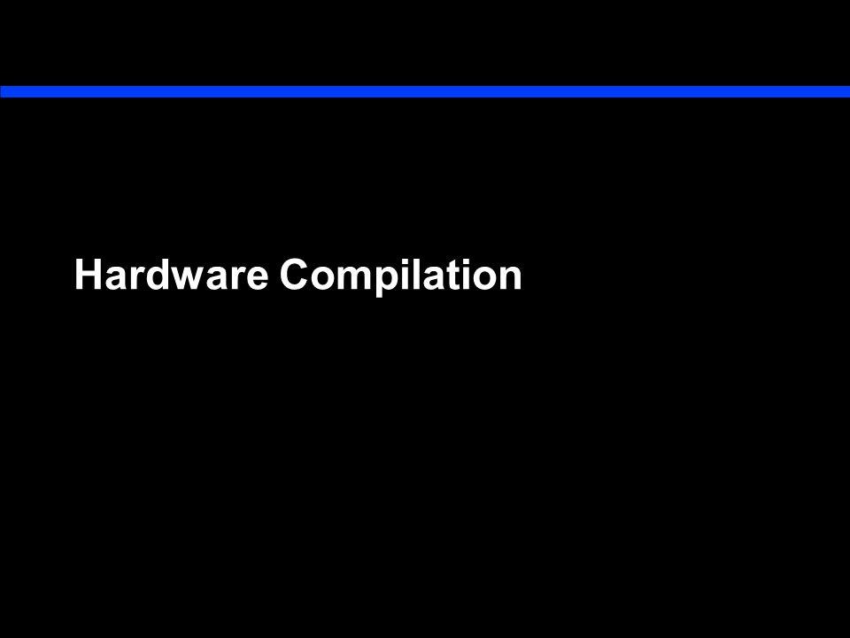 Hardware Compilation