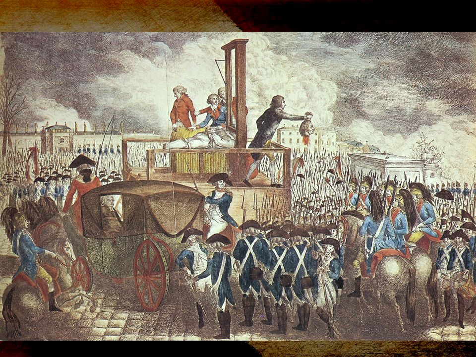 Death of a King and the Rise of Two Parties Louis XVI: Guilty of treason –The Convention voted 334 (Pardon) to… –387 for death.