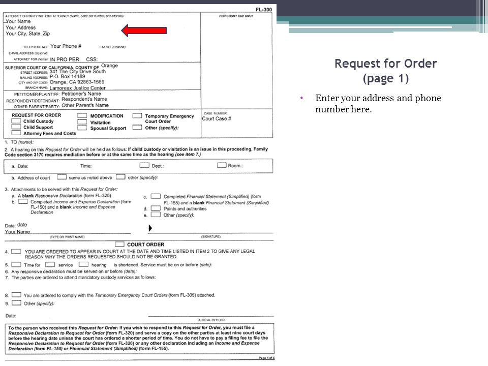 Declaration Regarding Address Verification Item 3.b.