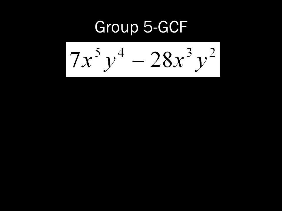 Group 5-GCF