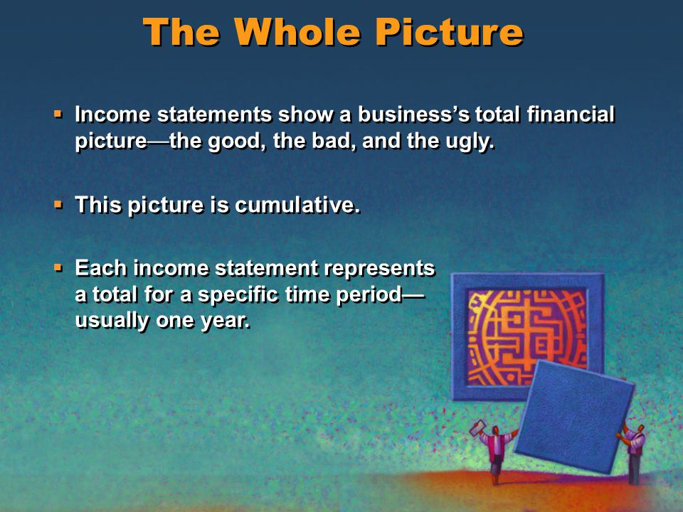 Income statements determine final profit and are also used to develop other financial documents. They must be as accurate as possible. — Sometimes cal
