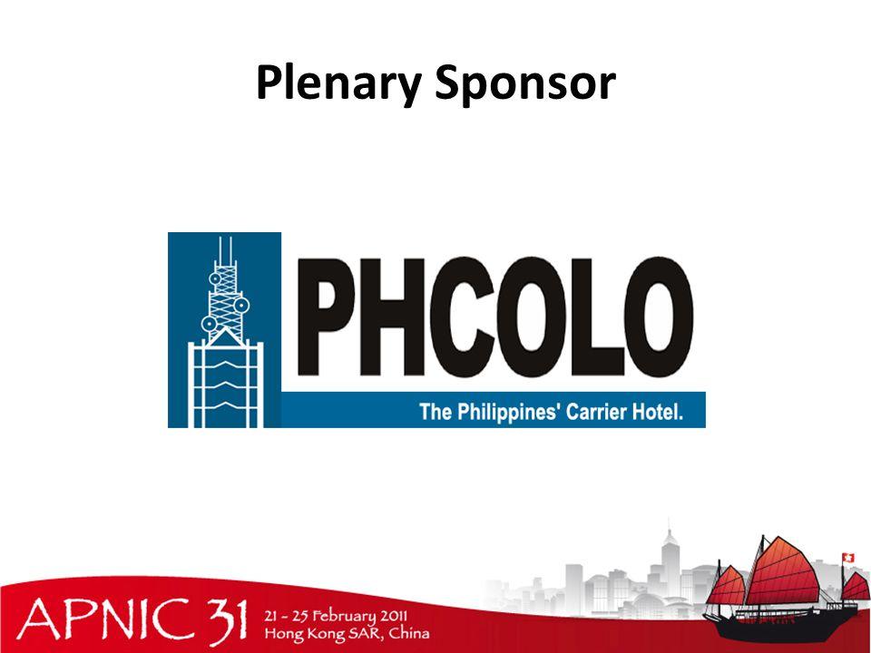 Plenary Sponsor