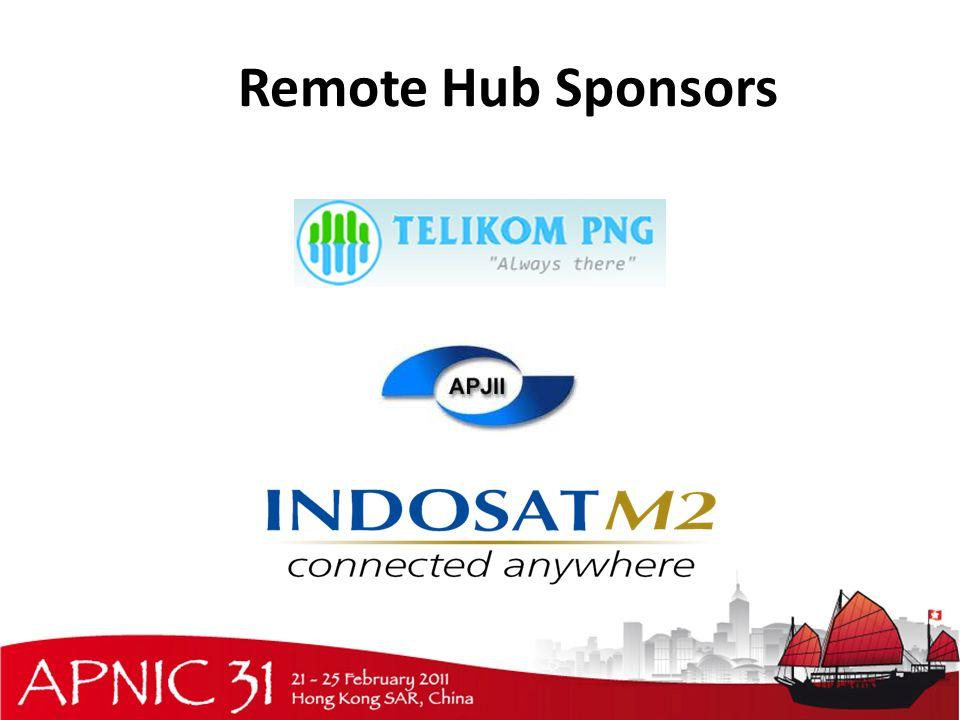 Remote Hub Sponsors